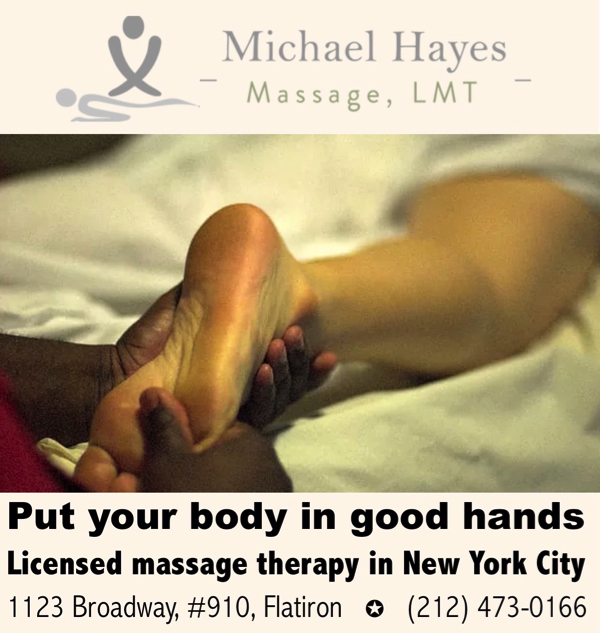 Flatiron Massage | Massage Therapist NYC